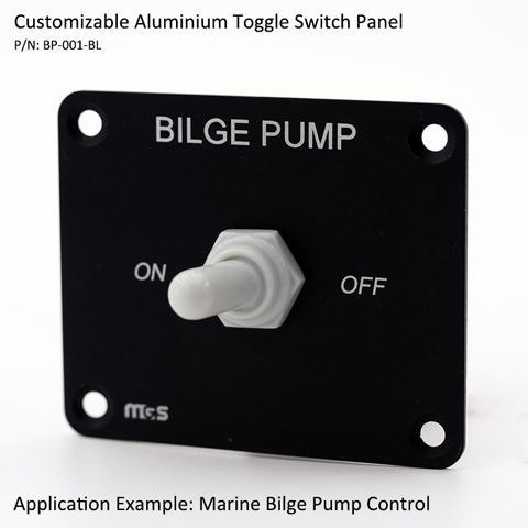 Toggle and Rocker Switch Panels