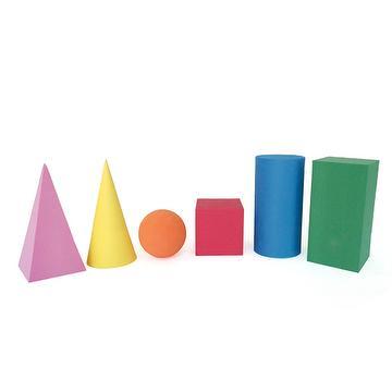 Geo foam solids 6 shapes