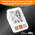 Electronic Blood Pressure Monitor(Slim design,Recharge Battery)