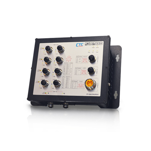 Industrial EN50155 Ethernet Switch - ITP-G802TM