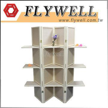 Taiwan Framed Pegboard Shelving, Square Pegboard Display ...