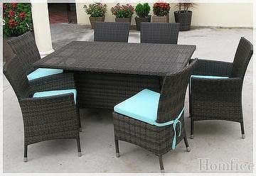 outdoor furniture mueble exterior rattan sintetico sofa set juego de sofa coffee set dining set chair table silla mesa comedor juego de cafe mueble