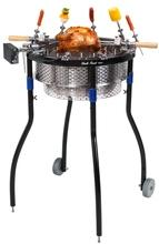 Stainless Steel Charcoal Barbecue Grill