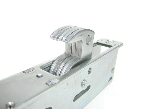 28.6mm backset Narrow stile Door Lock for aluminum door