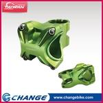 【CHANGE】Bicycle Stem S35G Color:Green - 2 in 1 Designed for 31.8 and 35mm bars