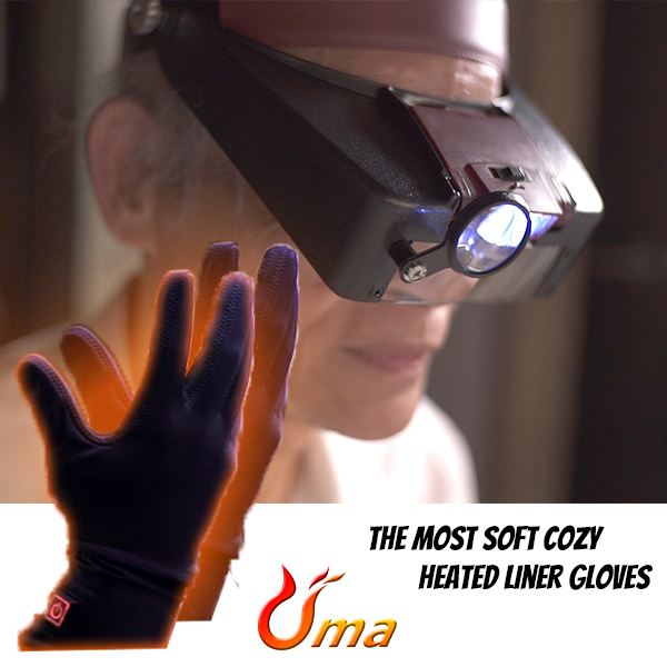 heated liner gloves with battery