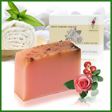 Rose & Cranberry Natural Soap