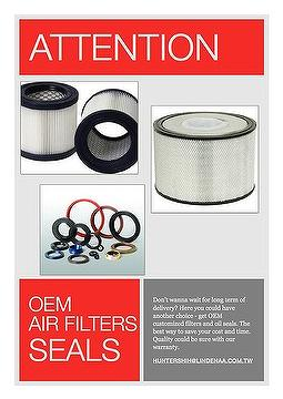 OEM filters and oil seals
