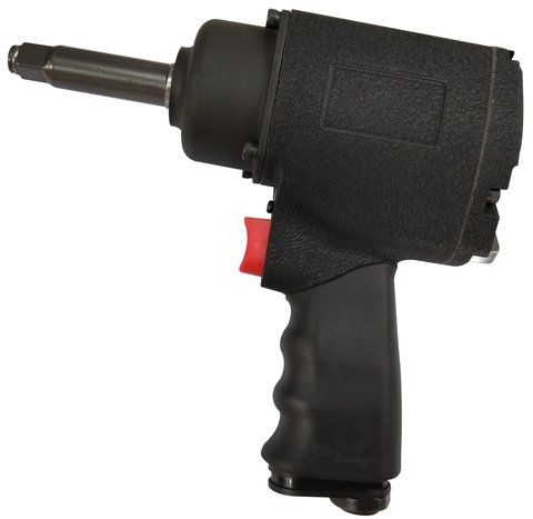 "1/2"" Impact Wrench with 2-Inch Extended Anvil, Twin Hammer"