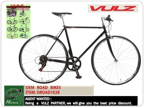 Taiwan 700C Alloy Aluminium 6061 black matt painting hybrid bike ...