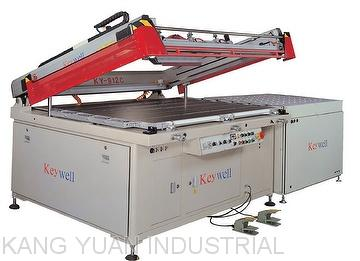 3/4- Auto Clam Shell Belt Take-off Glass Screen Printing Machine