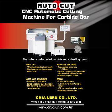 CNC Automatic Cutting Machine for Carbide Bar
