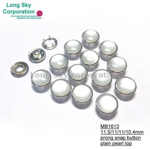 Polyester Resin Top Prong Snap Buttons