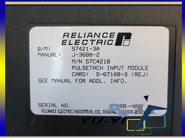 taiwan reliance electric 57c421a pulsetach input module plc automax rh yuyiplc en taiwantrade com reliance electric automax manuals