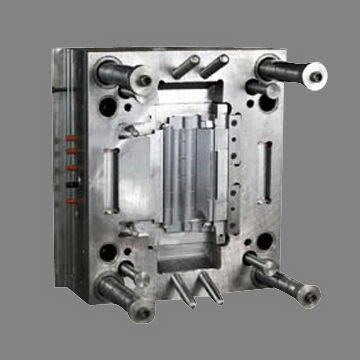 Plastic injection mold.