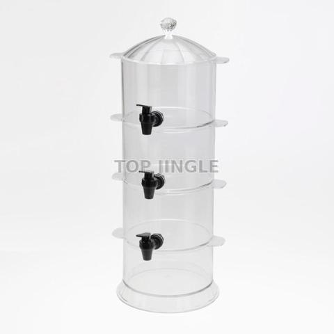 3 Tiers Acrylic Beverage Dispenser