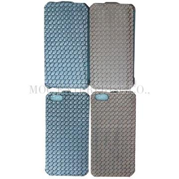 Flip Python pattern design PU case for iPhone 5