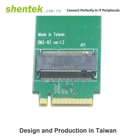Shentek A key Slot To M Key M.2 Adapter Card Mini PCIe