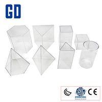 Toys 8 shape geo solids set