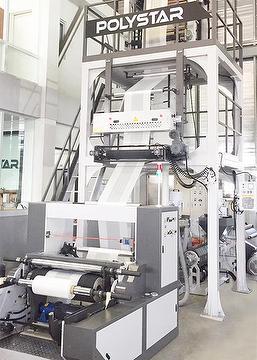 Taiwan Aba Blown Film Extrusion Machine Polystar
