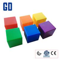 "1"" cube (Hollow cannular) (6 color 102 pcs)"