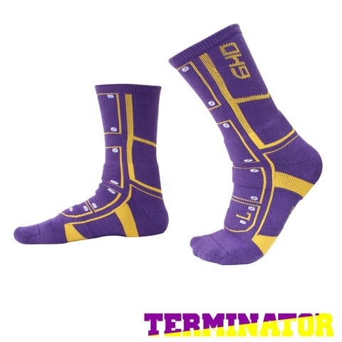 Terminator Basketball Socks - boot / tightly covered / cushion