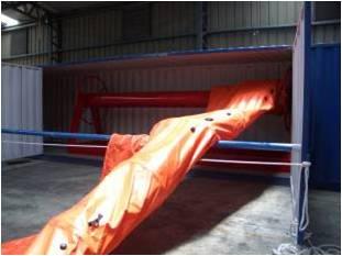 Self Inflatable Air Boom