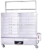 CKD-605 Gas type Showcase with signboard shelf