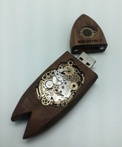 STEAMPUNK  USB Flash Memory