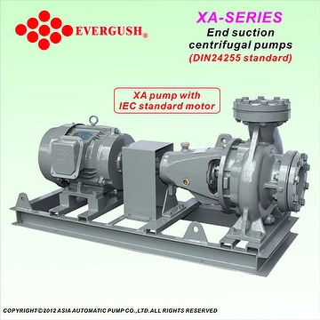 XA End suction centrifugal pump(DN24255)