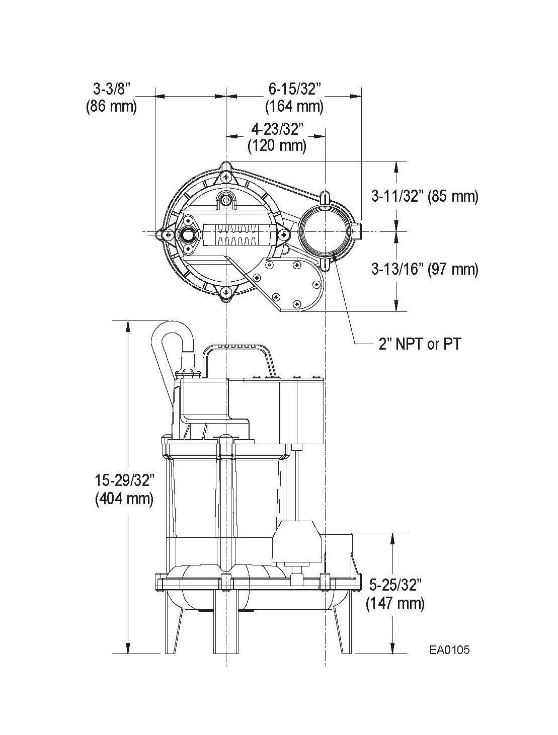 Taiwan Sewage Pump Dewatering Model 222 Zoeller Submersible Wiring Diagram