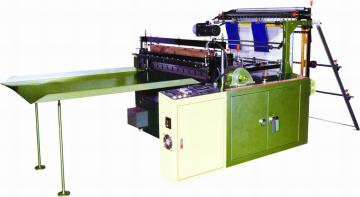 AUTOMATIC HIGH SPEED FREE TENSION BOTTOM SEALING BAGS MAKING MACHINE