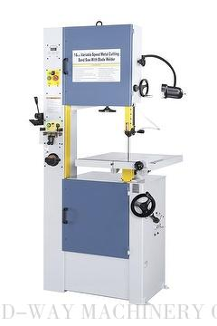 Variable Speeds Metal Cutting Band Saw With Blade Welder