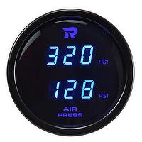 Air Pressure Gauge-PSI Digital Dual Display 52mm