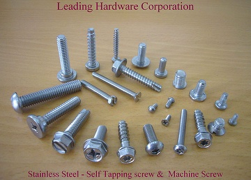 Stainless Steel - Self Tapping Screw & Machine Screw