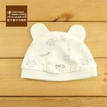 100 % Organic Cotton Baby Bear Hat -Owl NB~40 CM