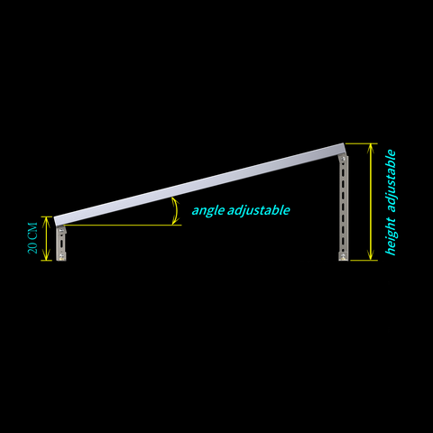 quick install solar panel frame