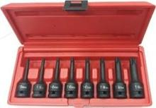 "8 PCS 1/2"" DR. DEEP IMPACT TORX BIT SOCKET SET"