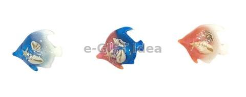 Resin Tropical Fish Magnet