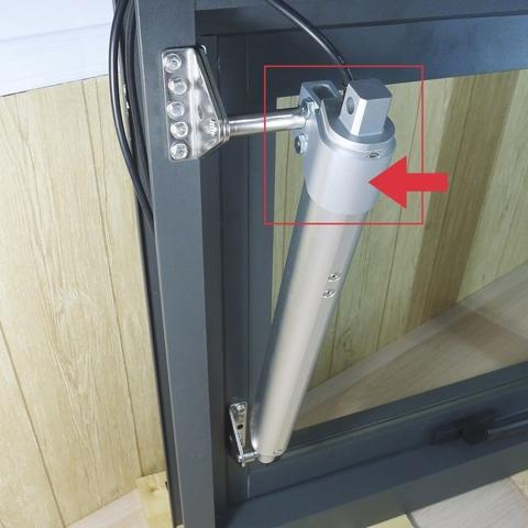 Demo on automatic window opening system with KST-A02-H - 2