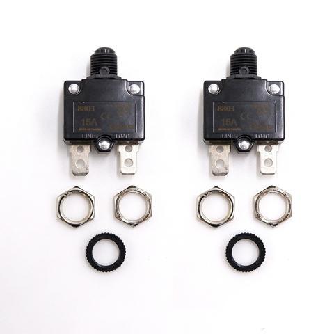 Thermal Circuit Breaker Single Port Push Push Button