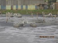 Lagoon pond float aerator
