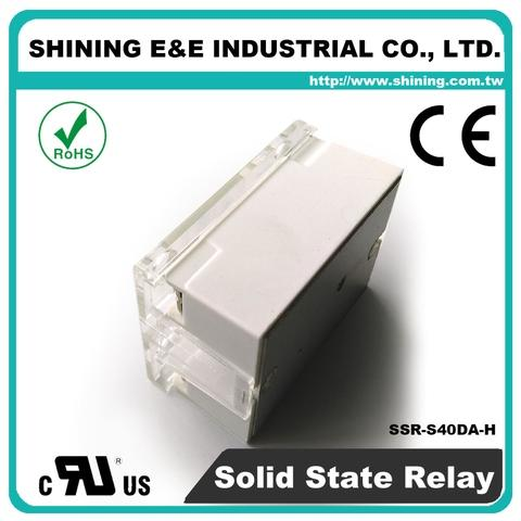 DC to AC Solid State Relay, 40A 480VAC (Single Phase)