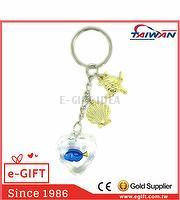 Acrylic Heart Dory Fish Sea Turtle Scallop Keychain