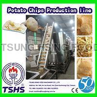 Stainless Steel Large Scale Fried Sweet Potato Chips Factory Equipment