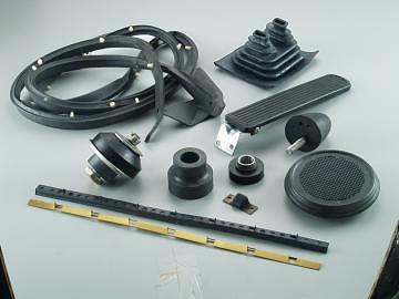 Mold Rubber/Sponge bond to metal parts