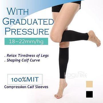 d8d12a9735 Taiwan Compression Calf Sleeves 18-22mmHg Calf Slimming Shaper Leg Sleeves  | CHYAU KE CO., LTD.