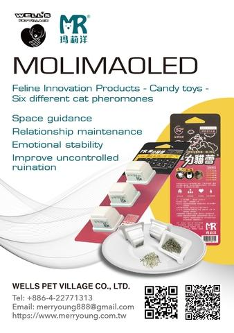 Feline Innovation Products Candy toys - MOLIMAOLED