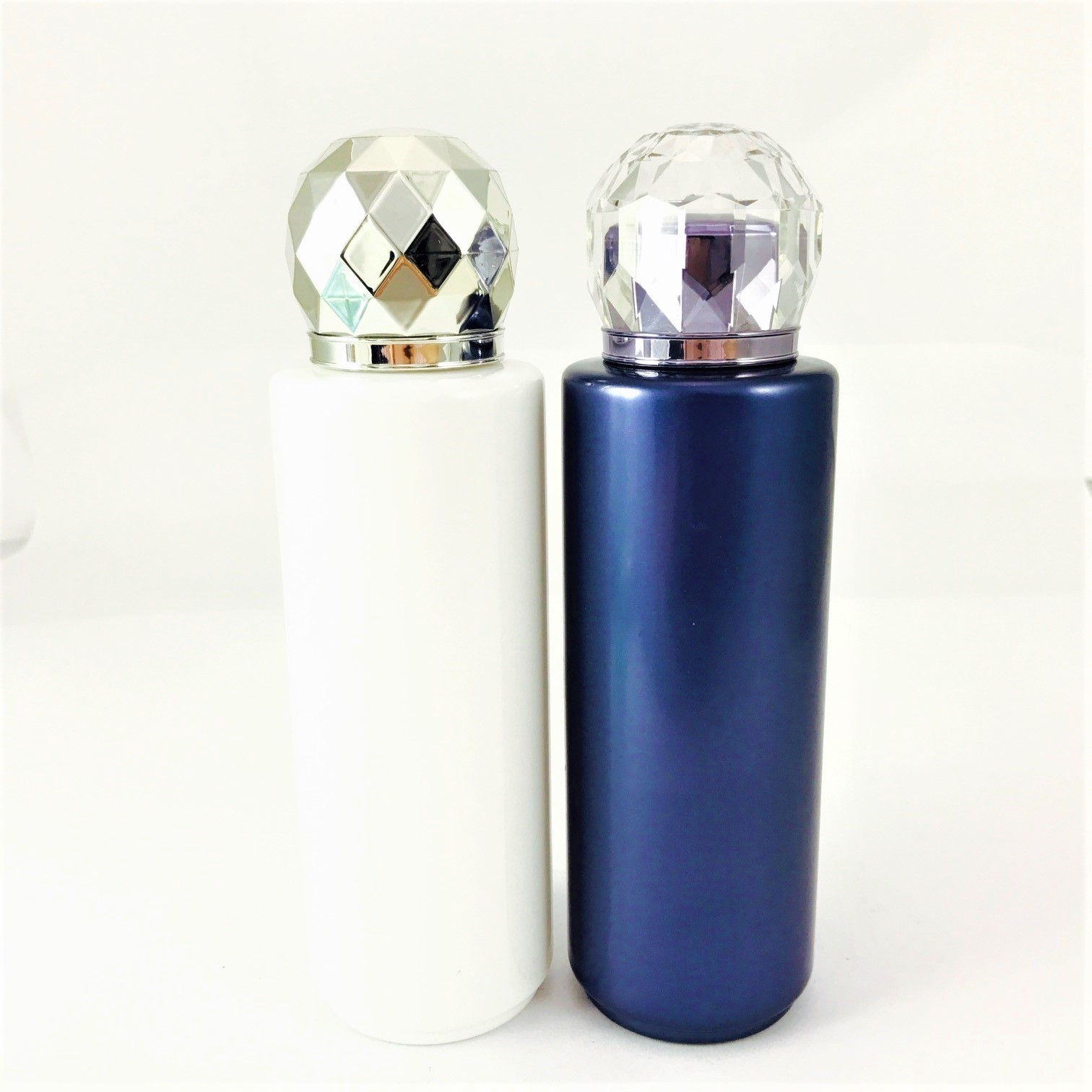 Diamond screw cap PET bottle