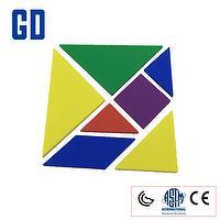 35pcs 5 color Tangram set